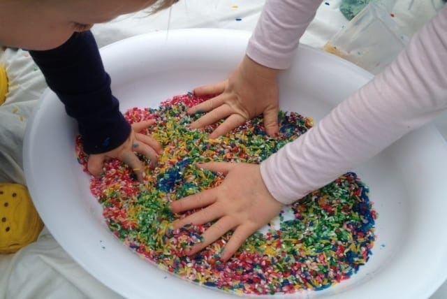 7 Sensory Play Activities Using Common Household Items