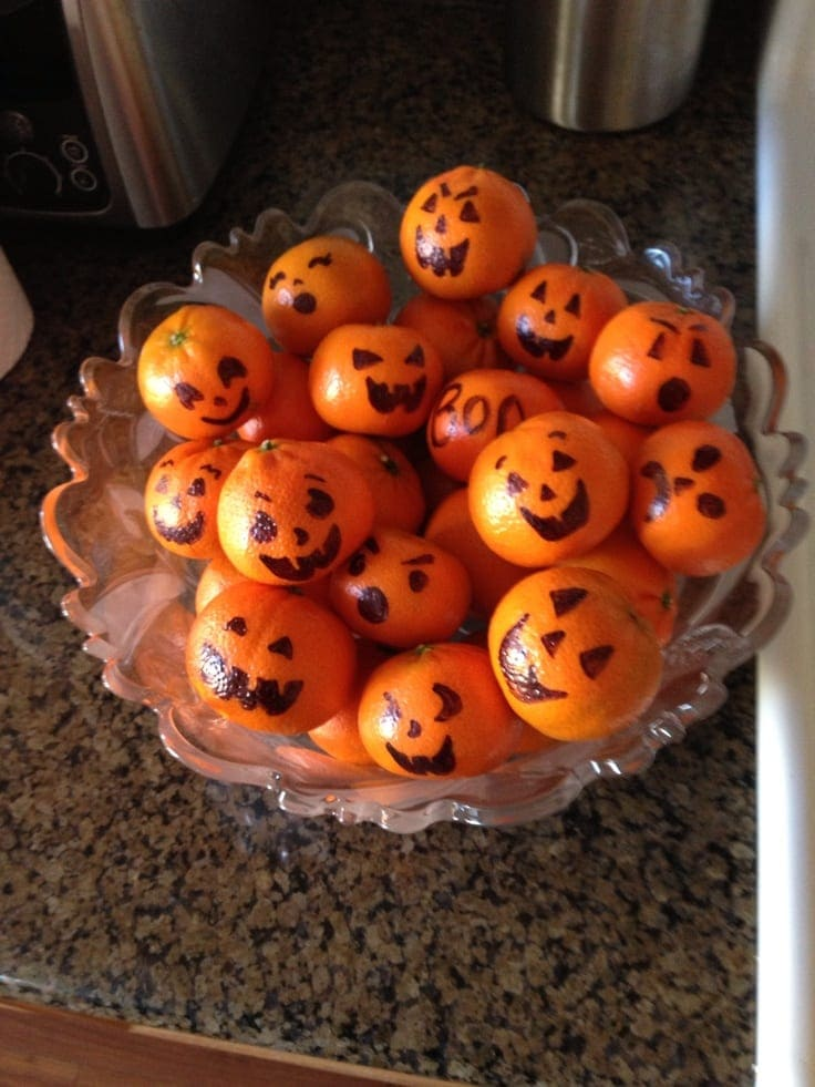 Top 10 inspired healthy halloween party snacks families magazine - Deco halloween enfant ...
