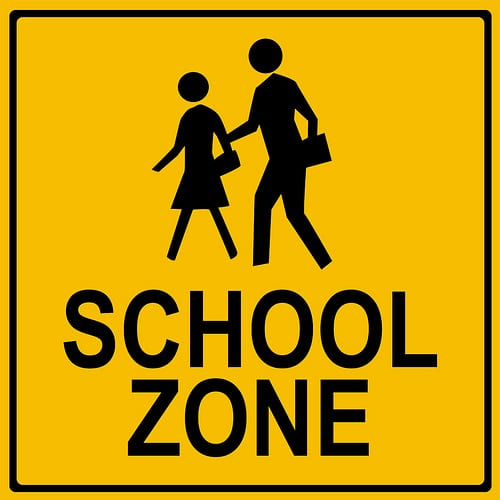 School Zone Speed Limit on Halloween Safety Rules
