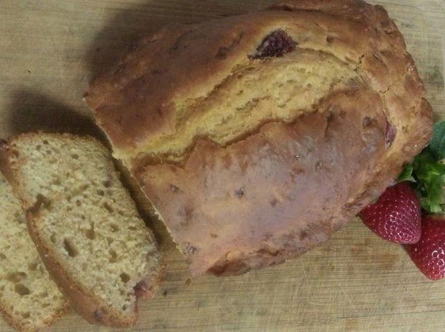 Strawberry and Banana bread recipe
