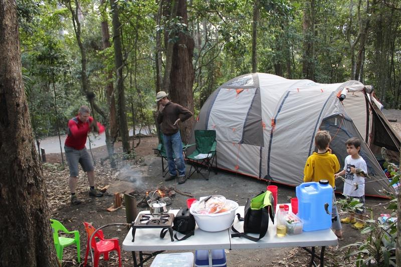 School Holiday Camping
