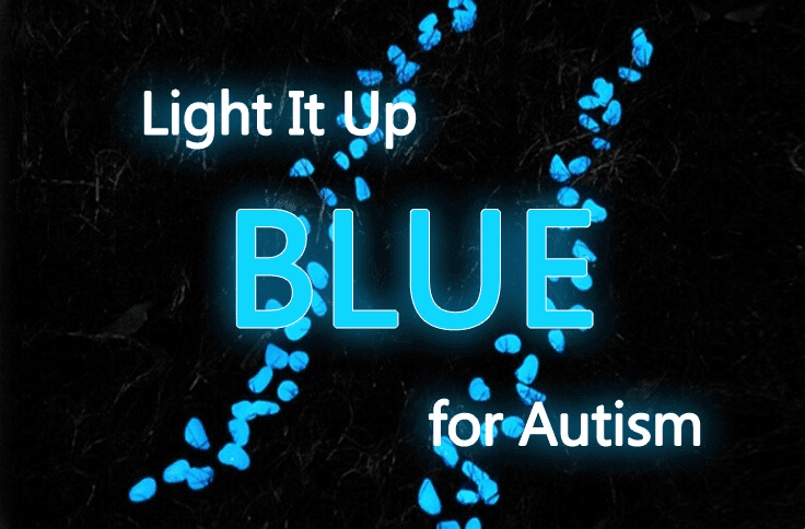 Seven (7) Ideas To Light It Up Blue For Autism When Camping