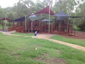 alderly park for half days out by families magazine. image of playground in alderly.