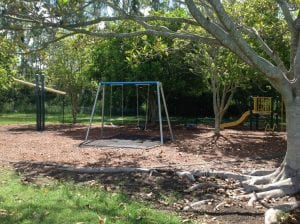 bald hills park for half days out by families magazine. image of swingset in bald hills