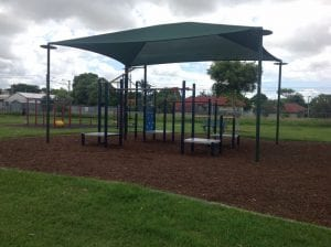 bald hills park for half days out by families magazine. image of playground in banyo 2