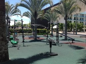 caboolture playground equipment, spinning apparatus and climbing bars