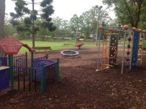 fun playground equipment at ferny grove..