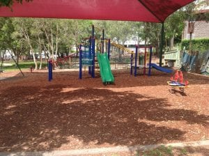 nundah playground with slide and swings