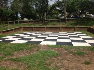 nundah giant checkerboard floor