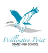 wellington point state high logo