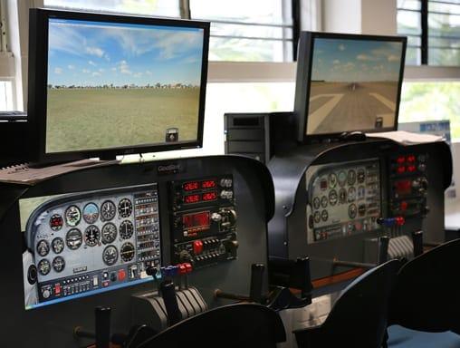 aviation high school flight simulation