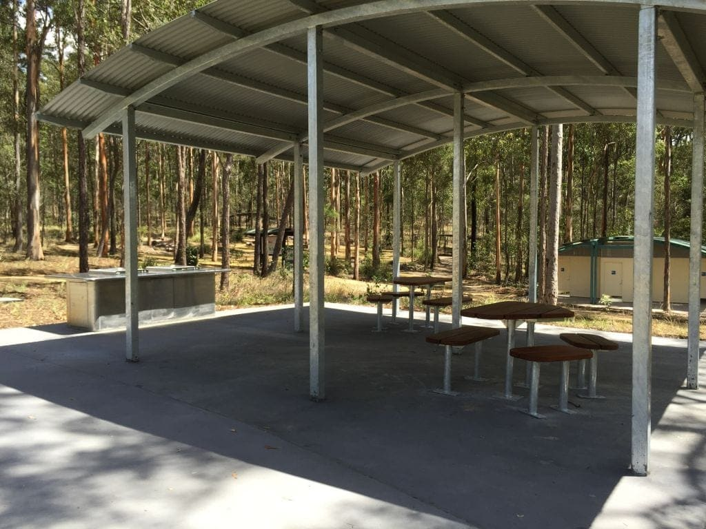 Picnic Facilities at Karawatha Forest Discovery Centre