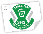 caboolture state high school logo