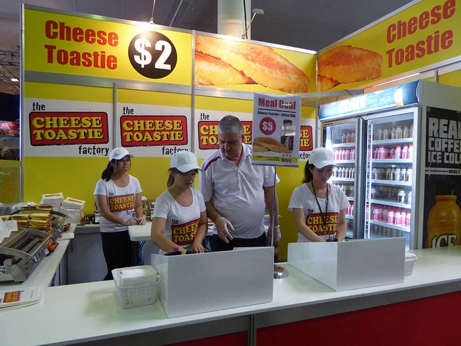 Ekka Cheese toastie
