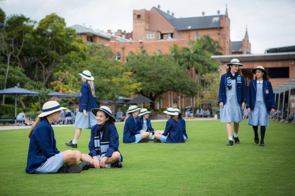 Stuartholme School Girls Grass