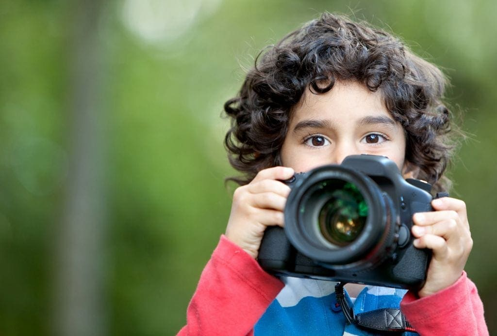 Teaching Children to take photos - photography courses for kids Brisbane