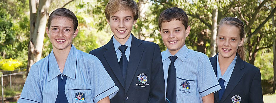 mt maria college petrie students