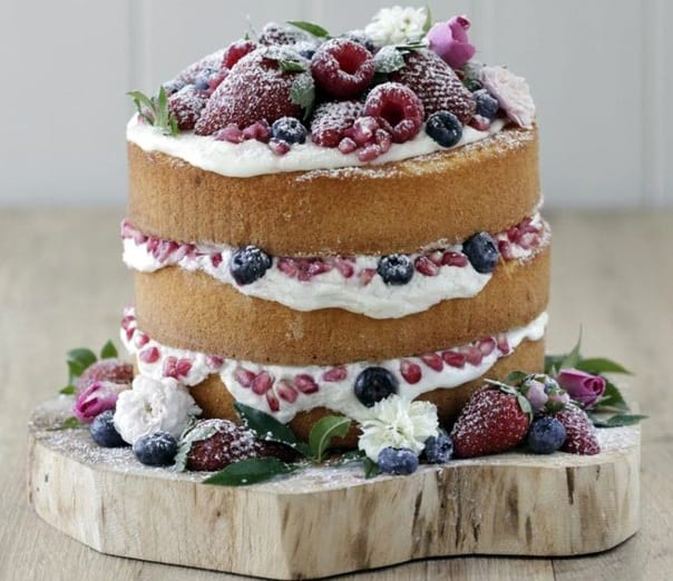 Low Sugar Naked Cakes Yes Its A Thing A Very Popular Thing