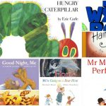 Collage of popular childrens books