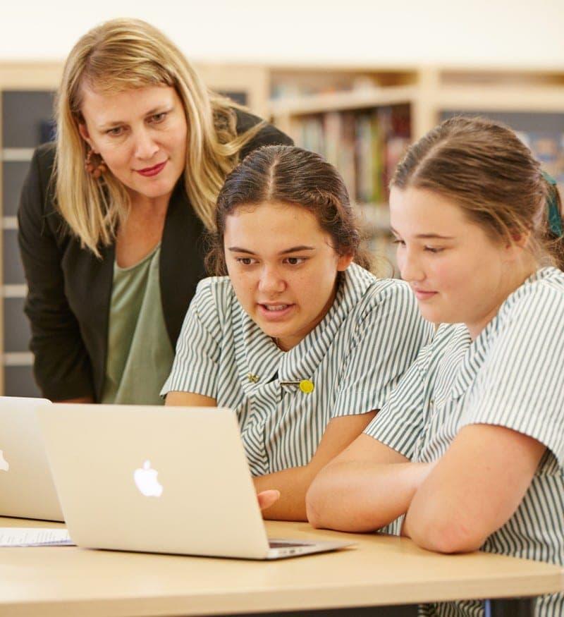 Clayfield College girls laptop