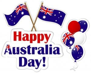 What is OPen Australia Day public holiday Brisbane