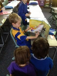 Independently read books and discuss what they have read or viewed with other students, teachers or family members