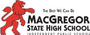 MacGregor State High School Logo