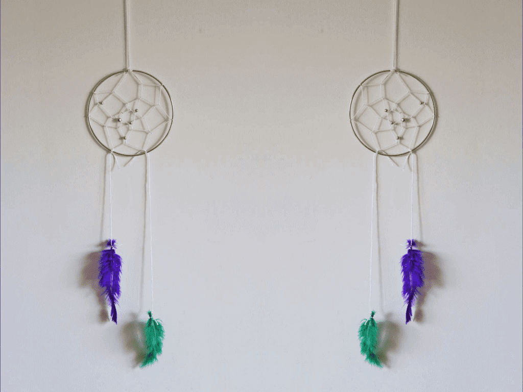 Diy dreamcatcher by stacey roberts families magazine for How to tie a dreamcatcher web