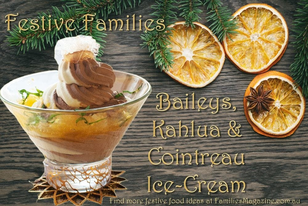 Baileys Ice-Cream dessert