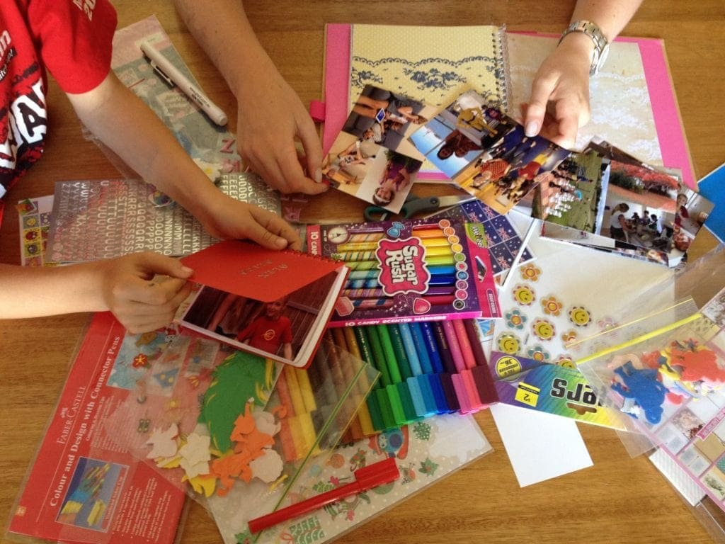 Narrative Therapy - Include photos of your child's daily activities and routine, as well as any learning and developmental milestones.