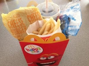 Happy Meal nutritional value