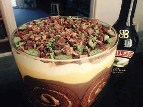 Baileys & Chocolate Trifle