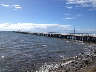 Shorncliffe Beach and jetty