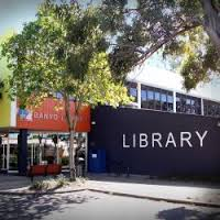 The facade of Banyo Library
