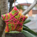 Christmas Craft with Kids Wool Wrapped Christmas Ornaments (1)