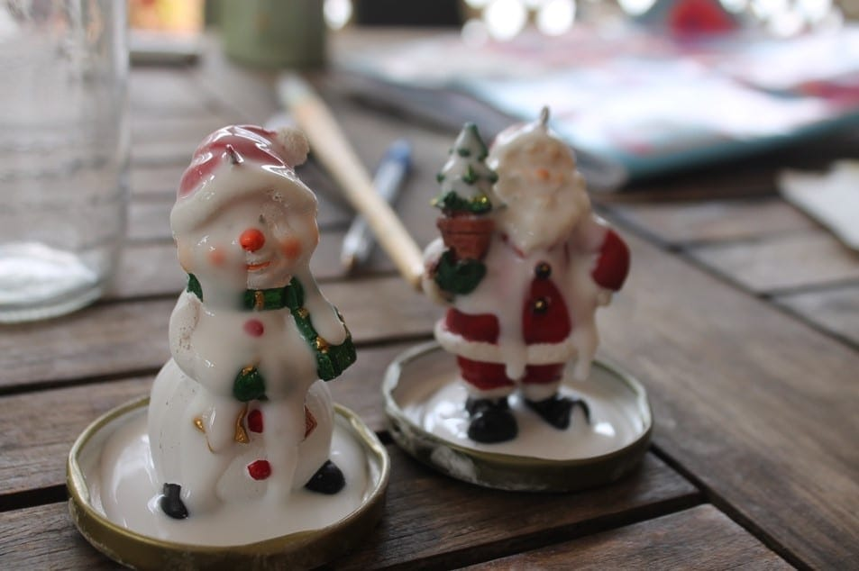 Christmas Craft with kids snow globes (3)