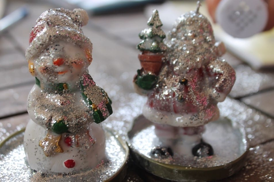 Christmas Craft with kids snow globes (5)