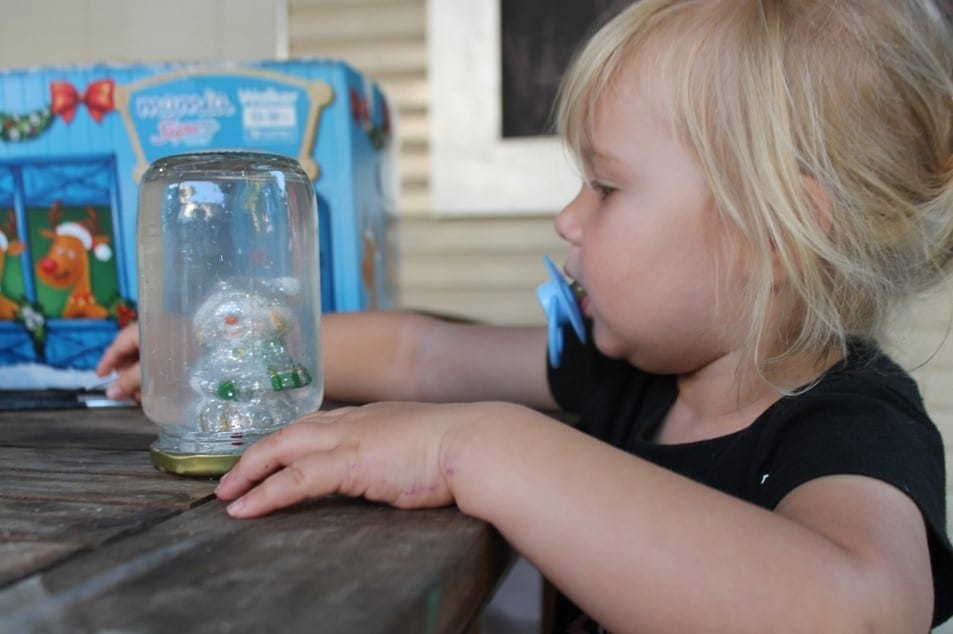 Christmas Craft with kids snow globes (7)