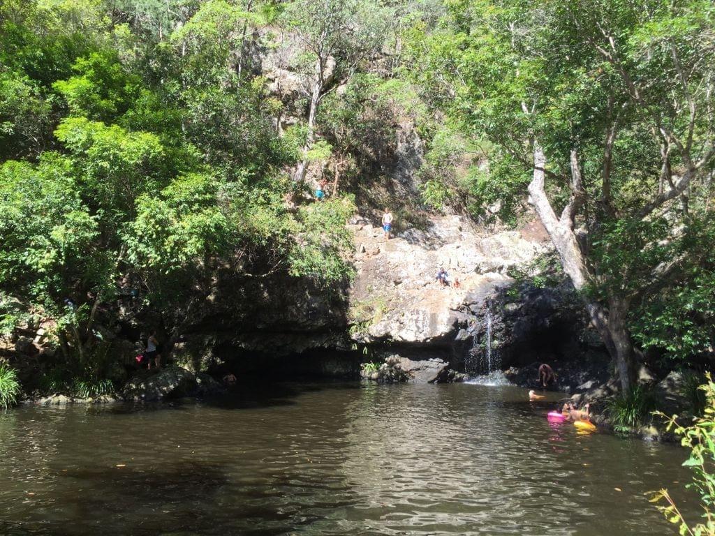Kondalilla Swimming holes near Brisbane Day Trip from Brisbane