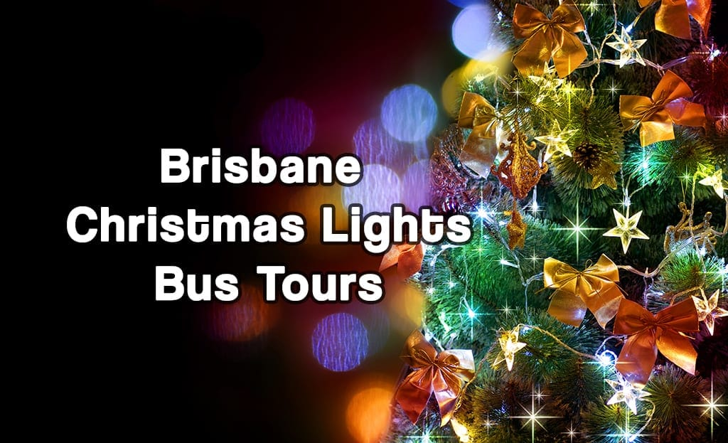 Christmas lights Brisbane bus tours