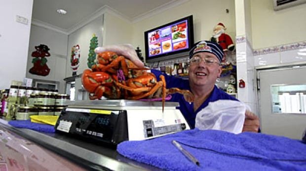 aussie seafood at capalaba