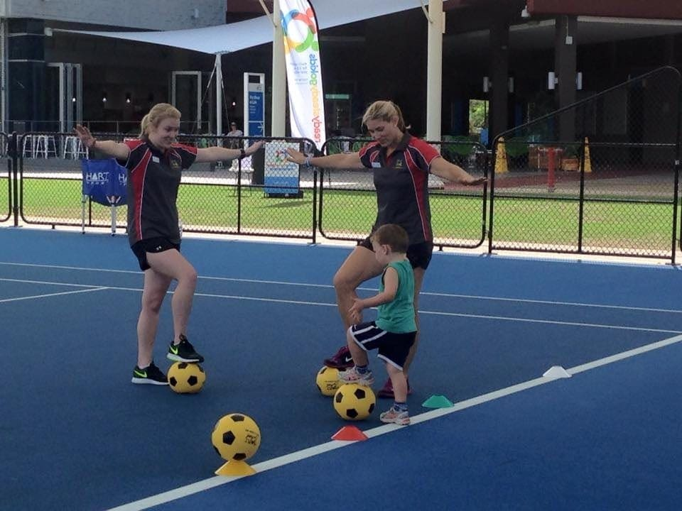 Toddler Friendly Sports