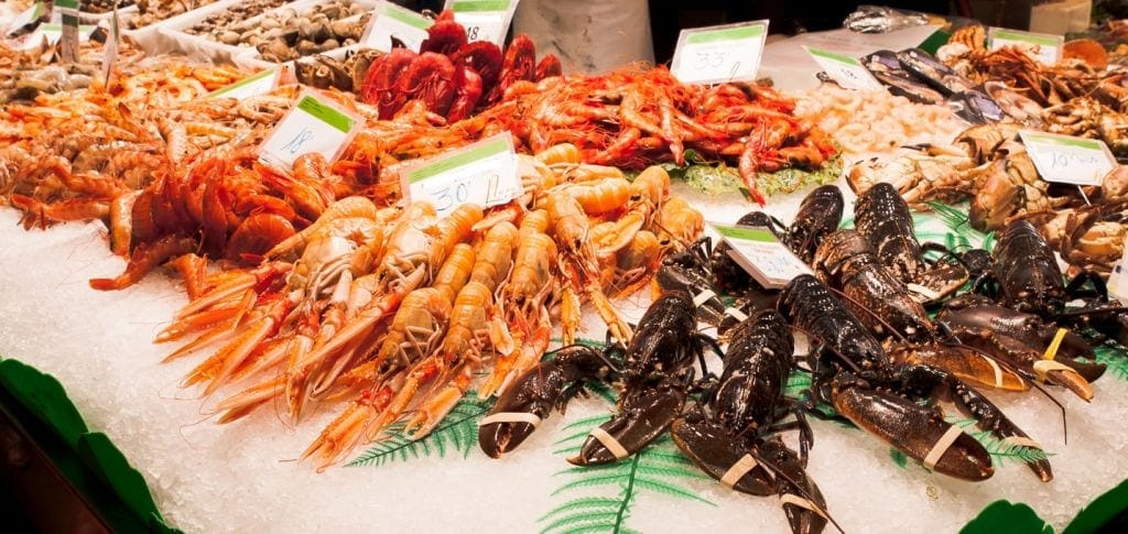 Top spots for christmas day prawns and fresh seafood for Seafood fish market