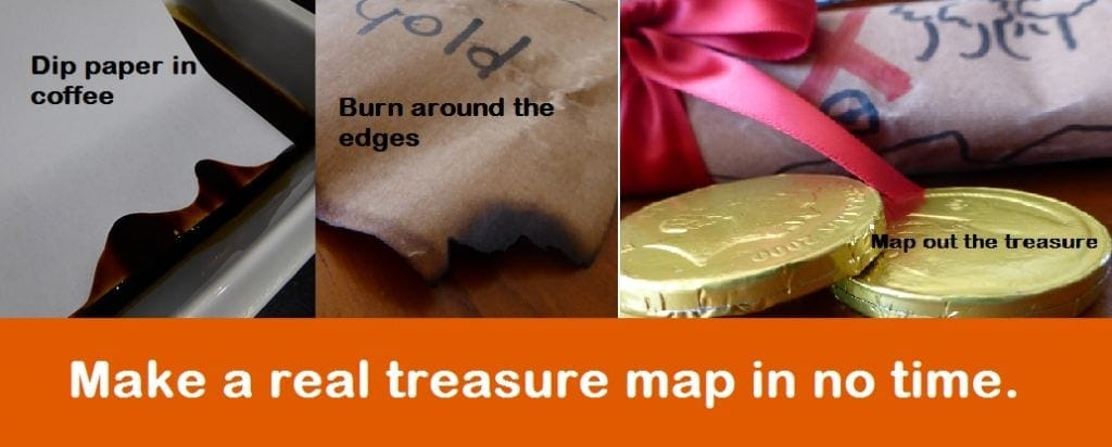 School holiday treasure hunt