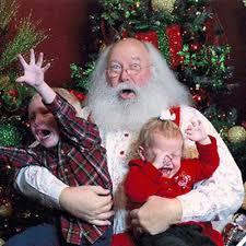 Santa losing it