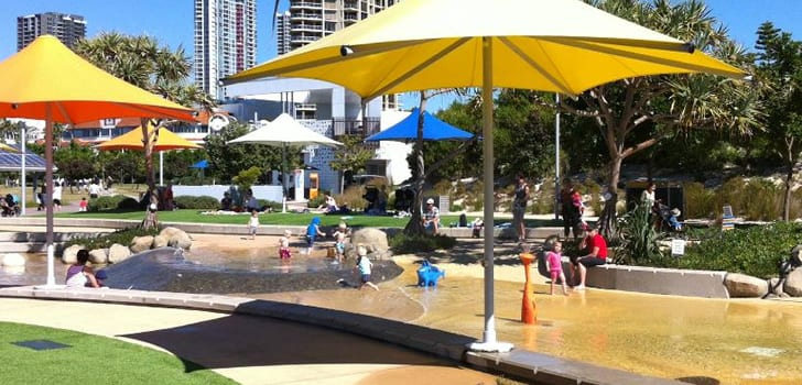 swiming things to do on the gold coast with kids - broadwater-parklands