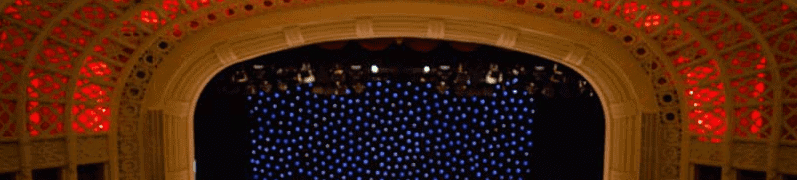 Empire Theatre Toowoomba ceiling