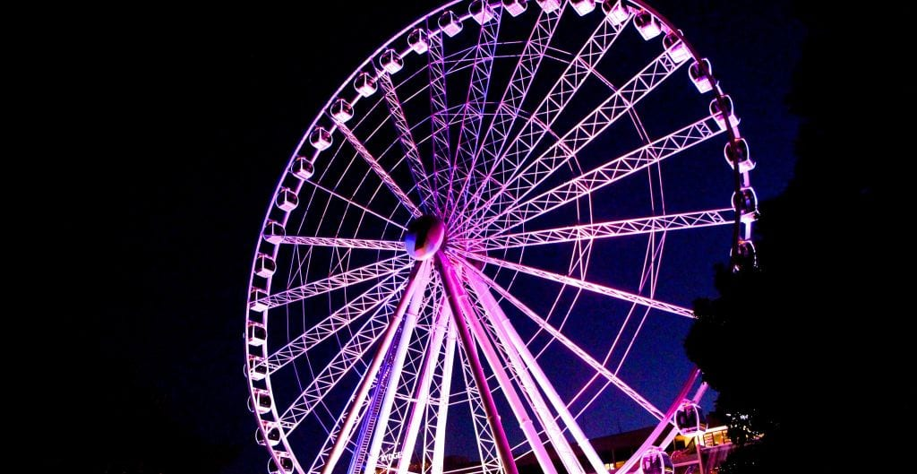 The Wheel of Brisbane is Open Christmas Day Brisbane - Christmas envelopes