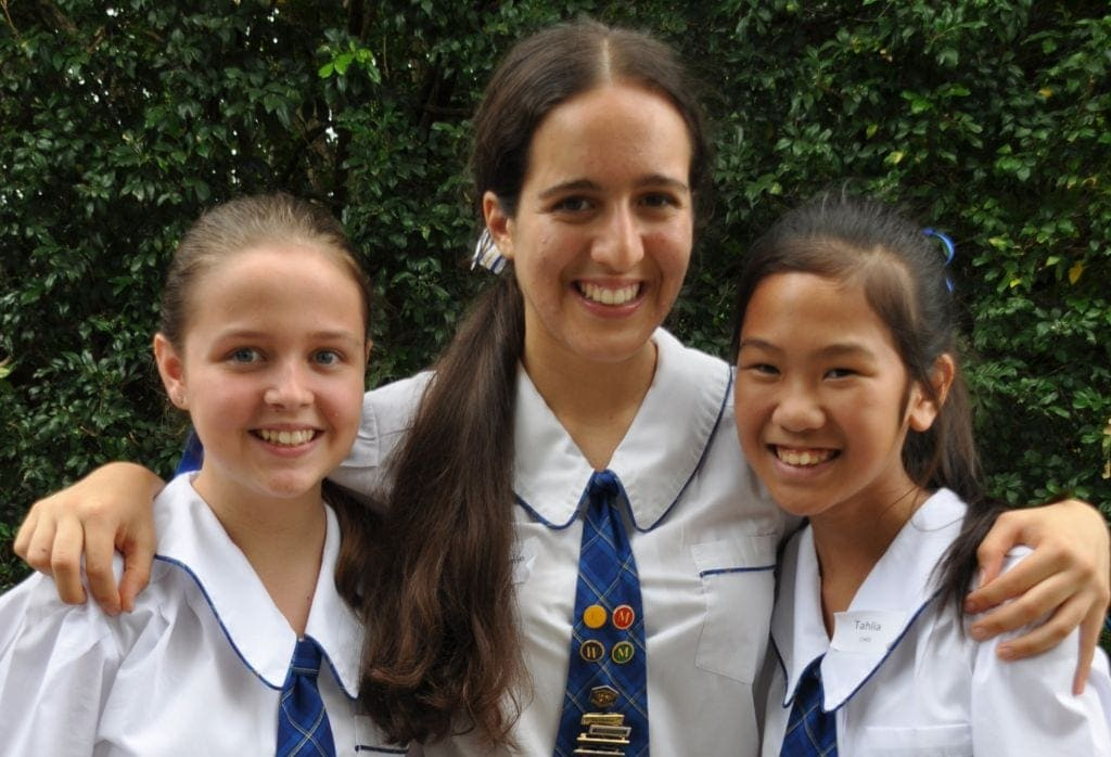 back to school jtters post image school girls smiling in uniform