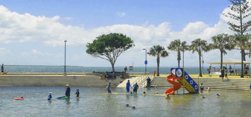 FREE QLD School Holiday - Wynnum Wading Pool